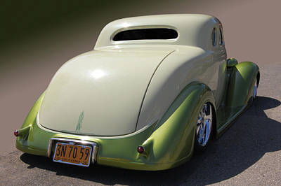 36 Dodge Coupe Poster by Bill Dutting