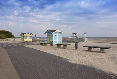 A Beach Resort On The Baltic Sea Coast Poster
