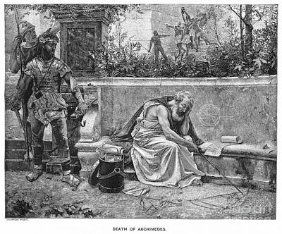 Archimedes (287?-212 B.c.) Poster