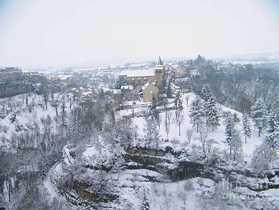 Bozouls Winter Poster
