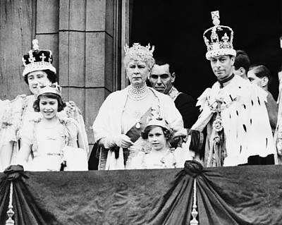 British Royal Family. From Left British Poster