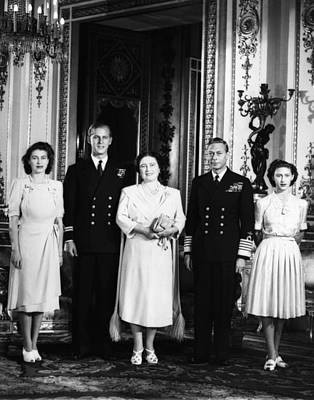 British Royal Family. From Left Future Poster by Everett