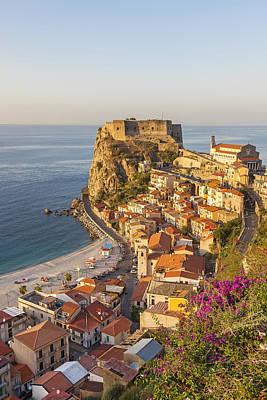Castello Ruffo, Scilla, Calabria, Italy Poster by Peter Adams