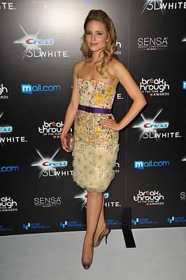 Dianna Agron Wearing A Carolina Herrera Poster