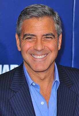 George Clooney At Arrivals For The Ides Poster by Everett