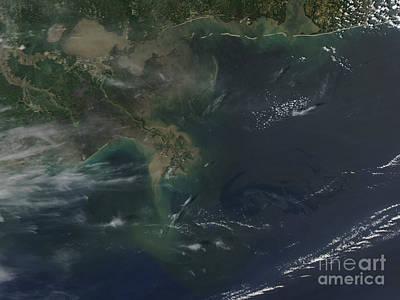 Gulf Oil Spill, April 2010 Poster