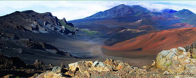 Haleakala Crater In Maui Hawaii Poster
