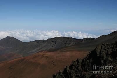 Haleakala Volcano Maui Hawaii Poster by Sharon Mau