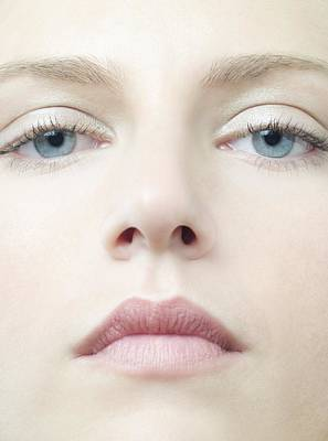 Healthy Woman's Face Poster by