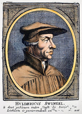 Huldreich Zwingli Poster by Granger