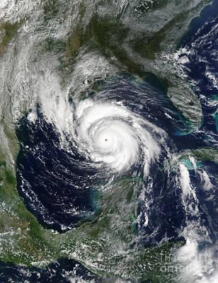 Hurricane Lili Poster by Stocktrek Images