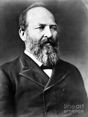 James A. Garfield, 20th American Poster by Photo Researchers