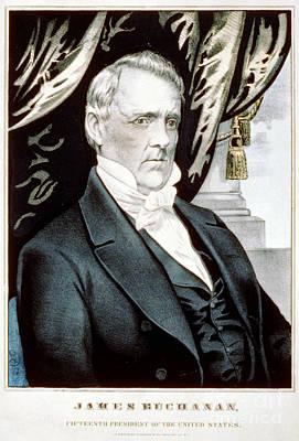 James Buchanan, 15th American President Poster by Photo Researchers