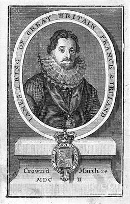 James I (1566-1625) Poster by Granger