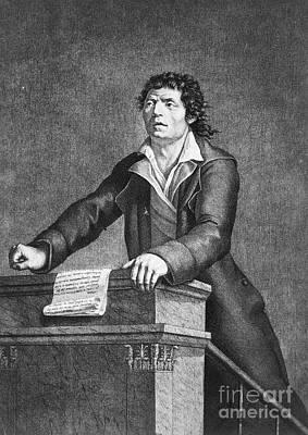 Jean-paul Marat (1743-1793) Poster by Granger