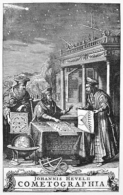 Johannes Hevelius Poster