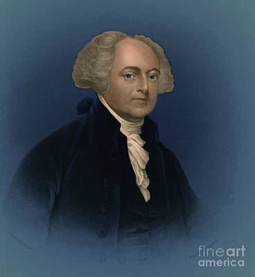 John Adams, 2nd American President Poster by Photo Researchers
