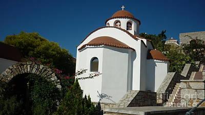 Monastery Of St Savas Poster