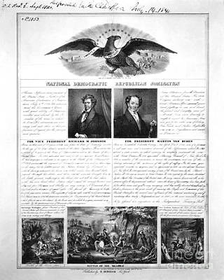 Presidential Campaign 1840 Poster by Granger