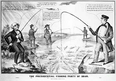 Presidential Campaign, 1848 Poster by Granger