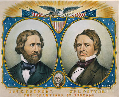 Presidential Campaign 1856 Poster