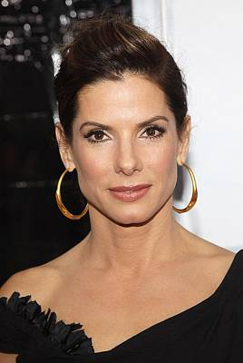 Sandra Bullock At Arrivals For The Poster by Everett