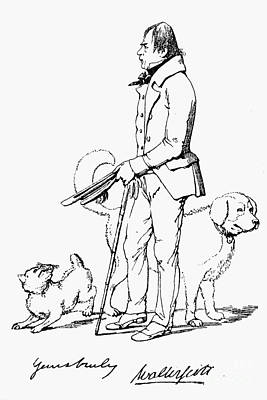 Sir Walter Scott Poster