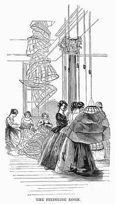 Skirt Factory, 1859 Poster