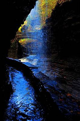 Watkins Glen State Park New York   Poster by Puzzles Shum