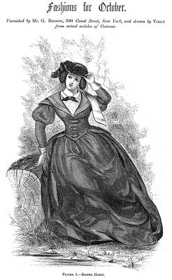Womens Fashion, 1860 Poster by Granger
