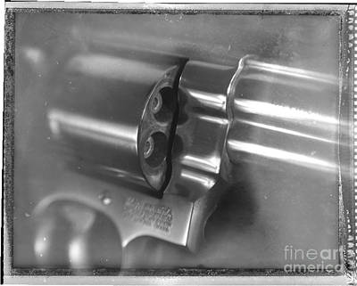.44 Magnum Poster by David Ricketts