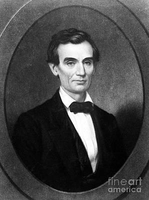 Abraham Lincoln (1809-1865) Poster