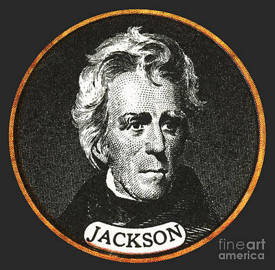 Andrew Jackson, 7th American President Poster