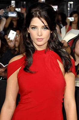 Ashley Greene At Arrivals For The Poster by Everett