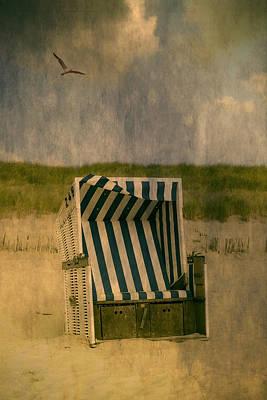 Beach Chair Poster by Joana Kruse