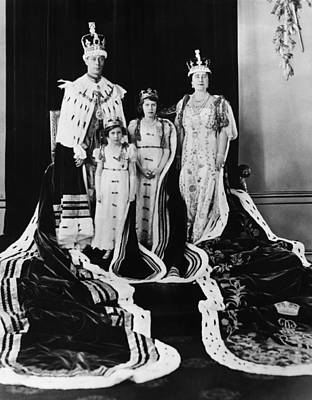 British Royal Family. From Left British Poster by Everett