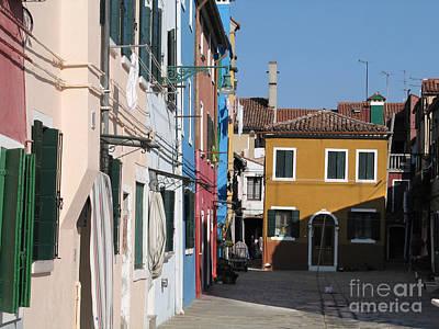 Burano Island. Venice Poster