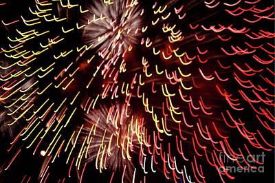 Fireworks Light Poster