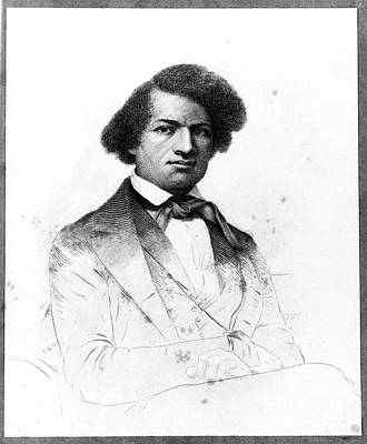 Frederick Douglass, African-american Poster by Photo Researchers