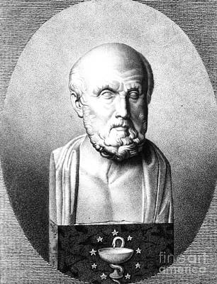 Hippocrates, Greek Physician, Father Poster by Science Source