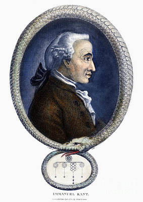 Immanuel Kant (1724-1804) Poster