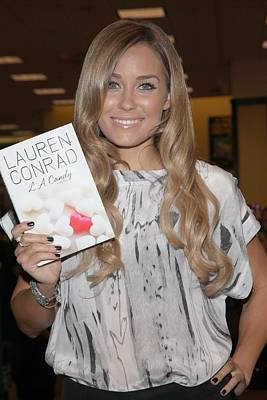Lauren Conrad At In-store Appearance Poster