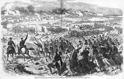 Seven Days Battles, 1862 Poster by Granger