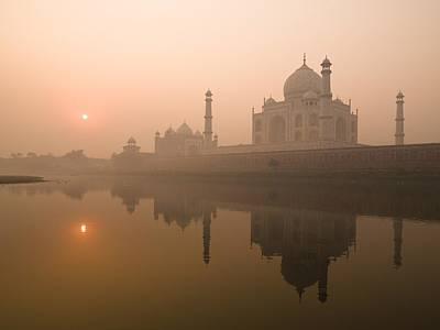Taj Mahal, Agra, India Poster by Keith Levit