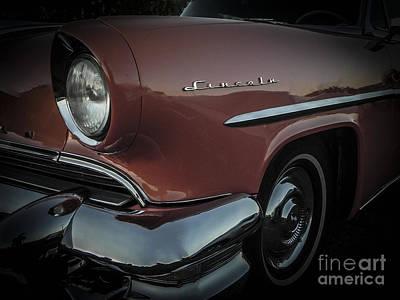 55 Lincoln Capri Poster by Chuck Re