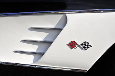 58 Corvette Poster