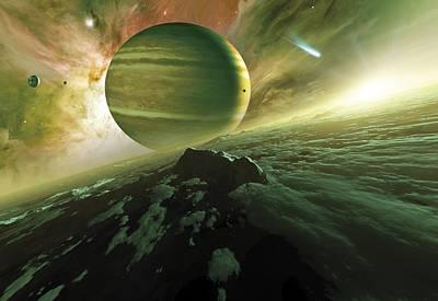 Alien Planet, Artwork Poster