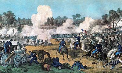 American Civil War, Battle Poster by Photo Researchers