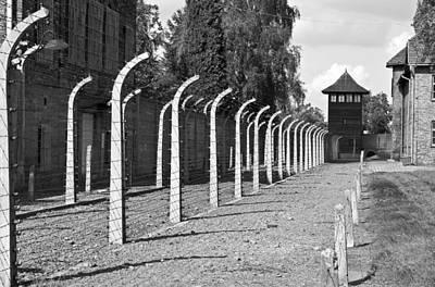 Auschwitz Birkenau Concentration Camp. Poster by Fernando Barozza