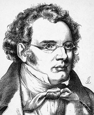 Franz Schubert (1797-1828) Poster by Granger